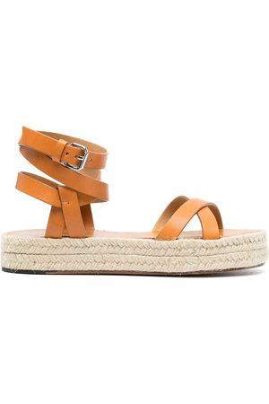Isabel Marant Ankle-strap espadrille sandals - Neutrals