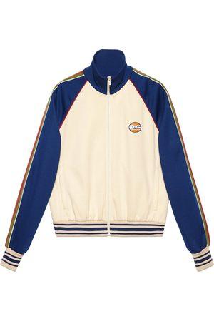 Gucci Colour-block bomber jacket