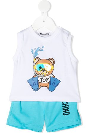 Moschino Teddy sleeveless-top two-piece set