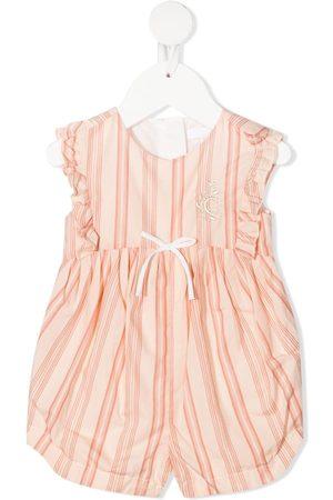 Chloé Kids Tank Tops - Striped sleeveless jumpsuit