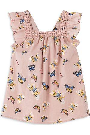 Peek Kids Girls' Butterfly Print Sundress - Baby