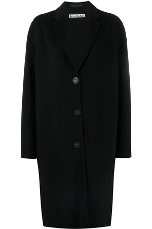 Acne Studios Single-breasted mid-length coat