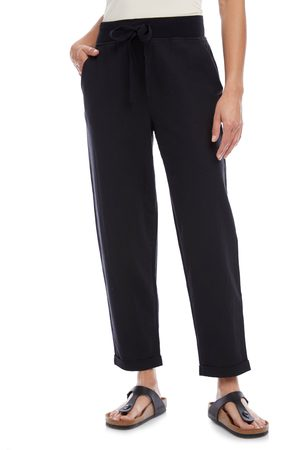 Karen Kane Women's Linen Blend Drawstring Pants