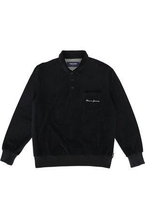 NOON GOONS Men's Velour Long Sleeve Polo