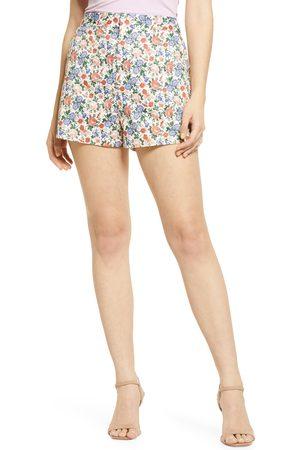 Endless Rose Women's Floral High Waist Shorts