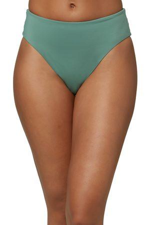 O'Neill Women's Maxwell Saltwater Solid Bikini Bottoms