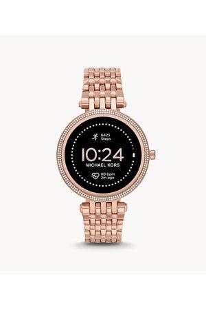 Womens Michael Kors Women's Gen 5E Darci Smartwatch - -Tone Stainless Steel