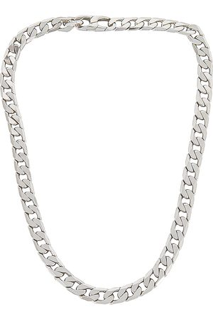 Baublebar Small Michel Curb Chain Necklace in Metallic .