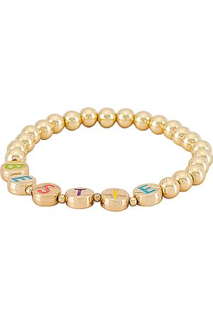 Baublebar BFFL Pisa Bracelet in Metallic Gold.