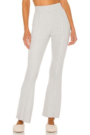 Camila Coelho Samira Knit Pant in Grey.