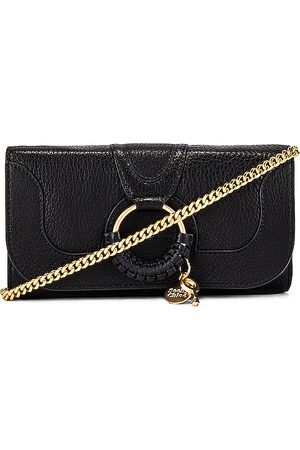 See by Chloé Hana Small Leather Wallet On A Chain Bag in .