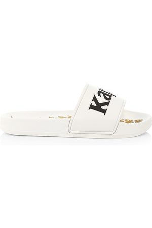 Kappa Men Sandals - Men's Banda Adam Logo Slide Sandals - - Size 10