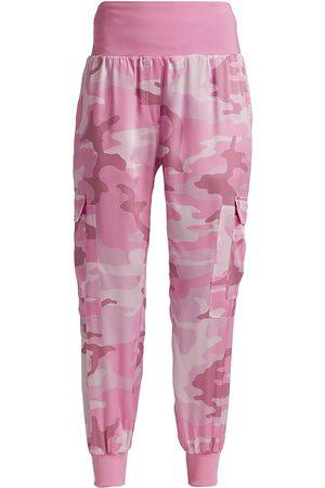 Cinq A Sept Women Cargo Pants - Women's Giles Camo Cargo Joggers - Cameo - Size Medium