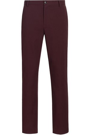 7 for all Mankind Men Chinos - Men's Tech Series Adrien Chino - Burgundy - Size 34