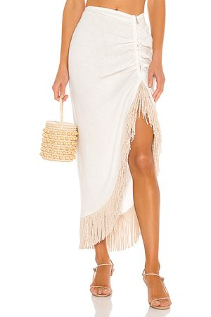 Just BEE Queen Women Maxi Skirts - Mallorca Skirt in Ivory.