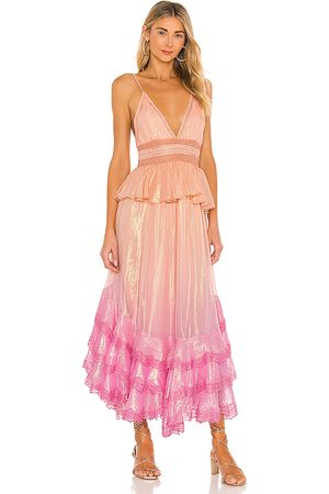 ROCOCO SAND Emi Dress in ,Peach.