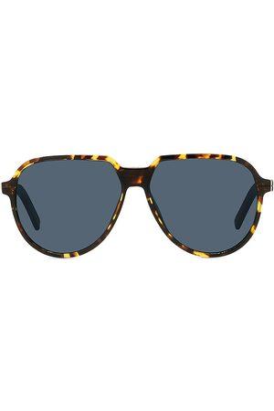 Dior Men Sunglasses - Men's Essential 58MM Pilot Sunglasses - Havana