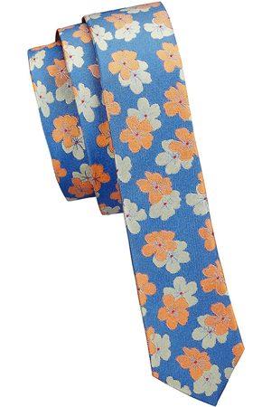 Appaman Boy's Floral Silk Tie - Size 7
