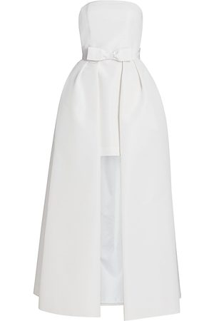 Alexia Maria Women Party Dresses - Women's Silk Faille Strapless Mini Dress with Convertible Skirt - - Size 4