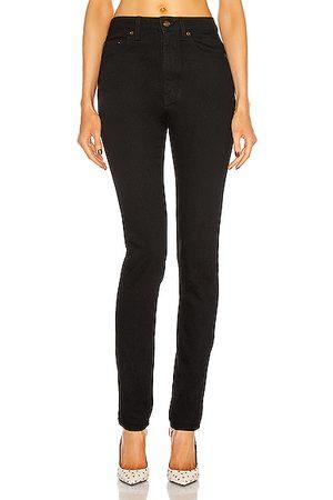 Saint Laurent High Waist Skinny Jean in