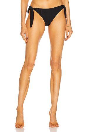 Saint Laurent Tie Bikini Bottom in