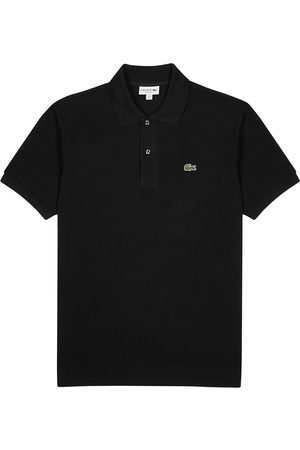 Lacoste Piqué cotton polo shirt