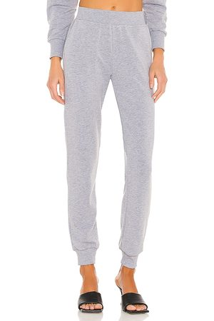 L'Agence Luxe Lounge The Moss Jogger Pant in Grey.