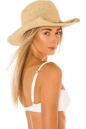 florabella Kendra Lux Hat in Tan.