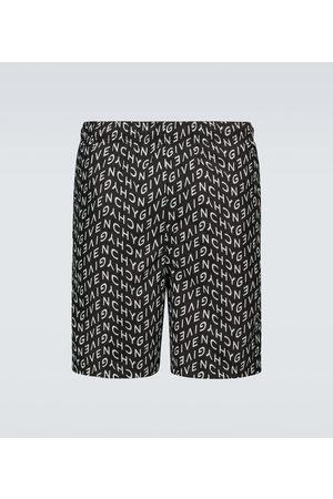 Givenchy Logo swim shorts