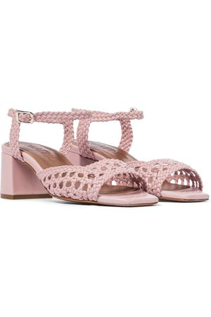 Souliers Martinez Ischia 50 woven leather sandals