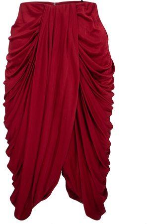 Isabel Marant Dotina silk-blend jersey midi skirt