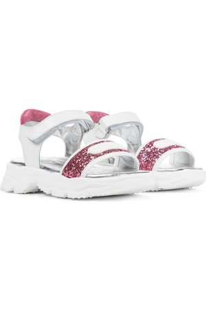 MONNALISA Glitter sandals