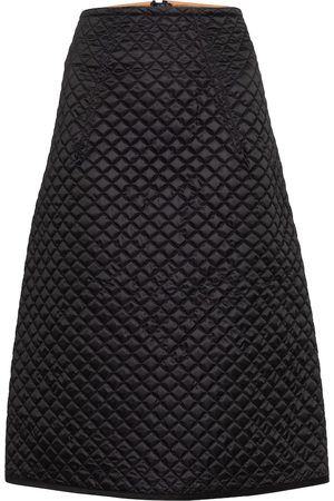 Moncler Genius 2 MONCLER 1952 quilted down midi skirt