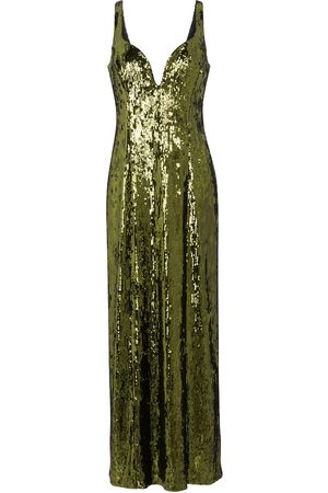 GALVAN Women Midi Dresses - Savannah sequinned midi dress