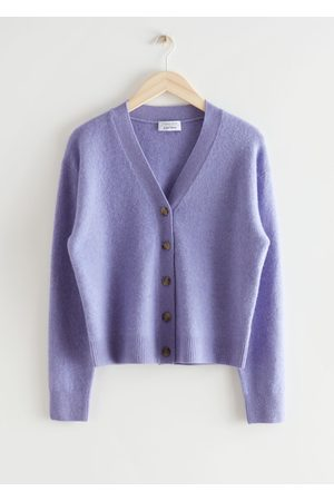& OTHER STORIES Women Cardigans - Wool Blend Knit Cardigan