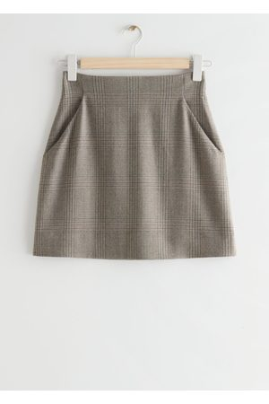 & OTHER STORIES A-Line Mini Skirt