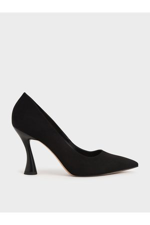 CHARLES & KEITH Spool Heel Pointed Toe Pumps