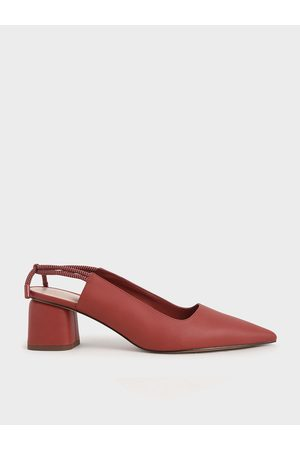 CHARLES & KEITH Knotted Slingback Pumps