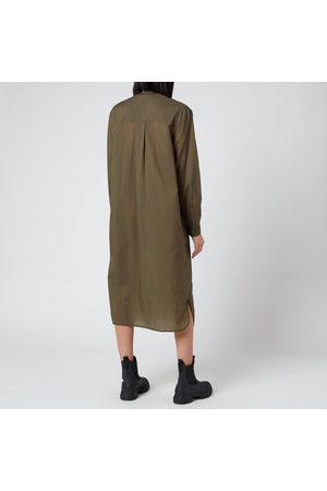Ganni Women's Light Ripstop Shirt Dress