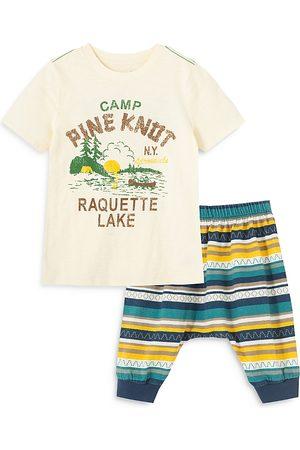 Peek Kids Boys' Camp Pine Knot Pants Set - Baby