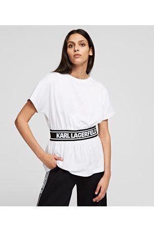 Karl Lagerfeld KARL LOGO TAPE TOP