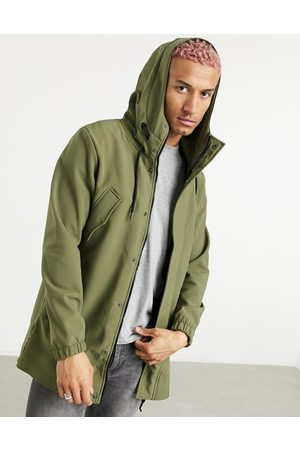 Only & Sons Parka with fishtail in khaki