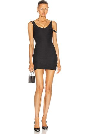 LAQUAN SMITH Women Party Dresses - For FWRD Layered Mini Dress in