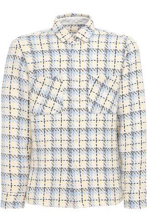Wax London Tartan Cotton Twill Shirt