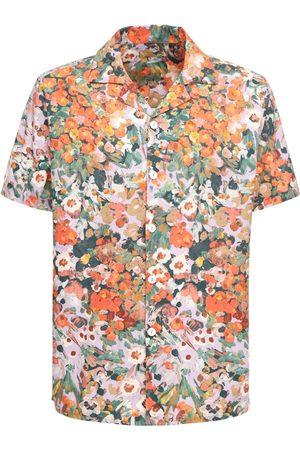 Wax London Men Shirts - Monet Cotton Poplin Shirt