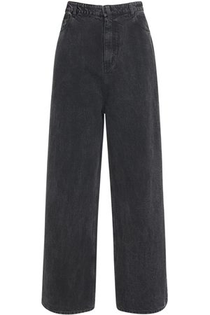 Balenciaga New Baggy Japanese Cotton Denim Jeans
