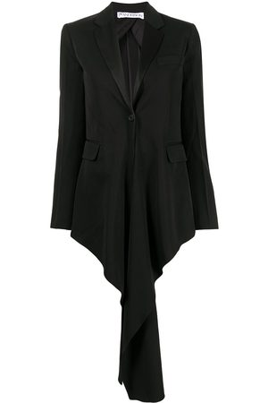 J.W.Anderson Women Blazers - Draped-detail blazer jacket
