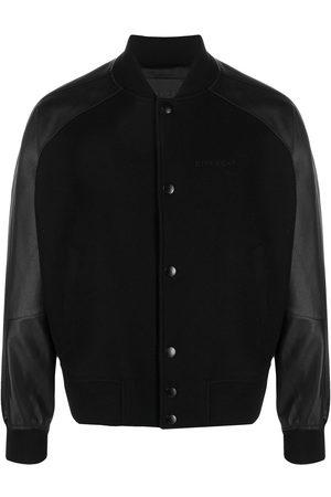 Givenchy Men Bomber Jackets - Rear logo bomber jacket