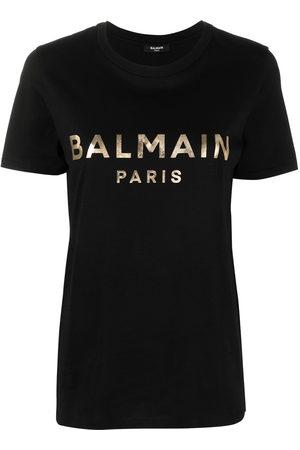 Balmain Women T-shirts - Logo print T-shirt