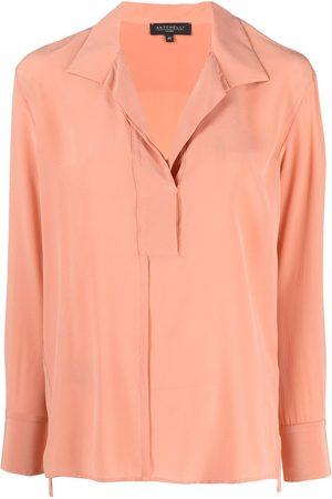 ANTONELLI Spread collar blouse
